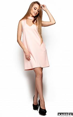 Платье Сапфир, Персик - фото 2