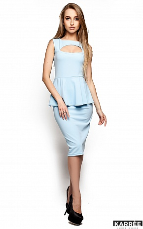 Платье Аметист, Голубой - фото 1