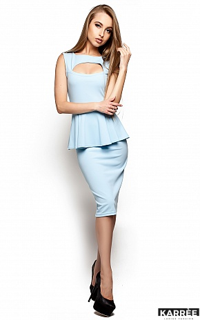 Платье Аметист, Голубой - фото 2