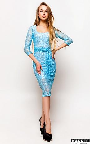 Платье Олси, Голубой - фото 1
