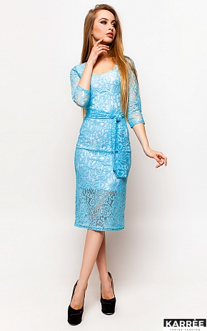 Платье Олси, Голубой - фото 2