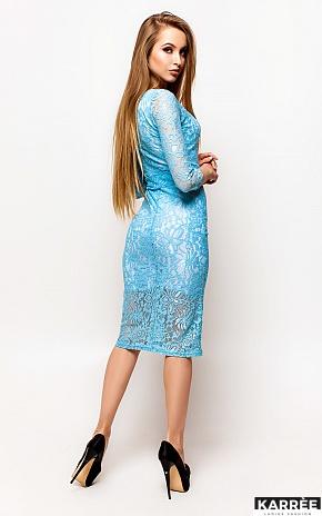 Платье Олси, Голубой - фото 4