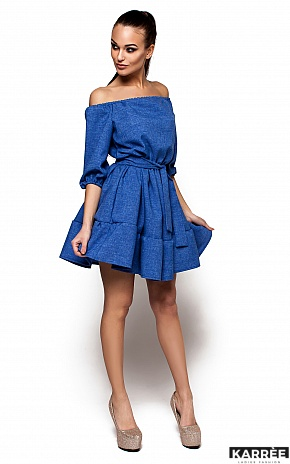 Платье Диана, Синий - фото 2