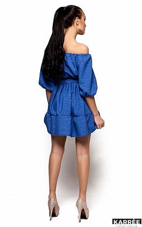 Платье Диана, Синий - фото 3
