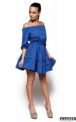 Платье Диана, Синий