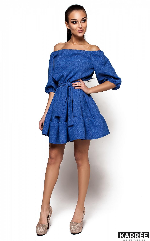 Платье Диана, Синий - фото 1