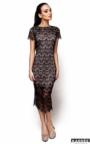 Платье Мелис, Черный - фото 1