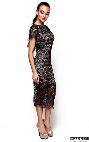 Платье Мелис, Черный - фото 2