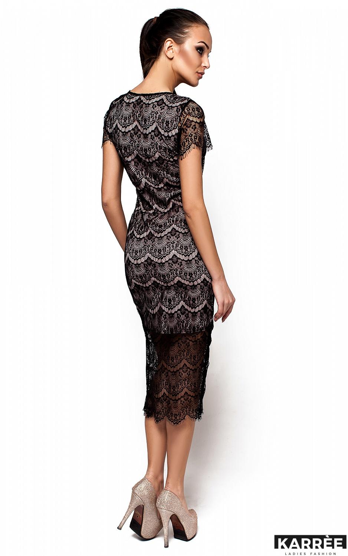 Платье Мелис, Черный - фото 3