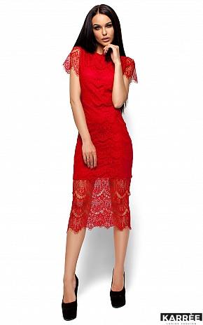 Платье Мелис, Красный - фото 4