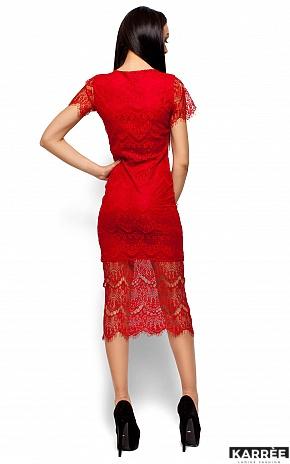 Платье Мелис, Красный - фото 3