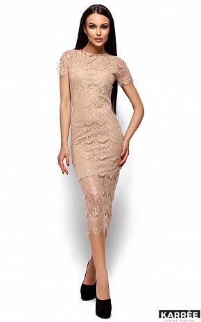 Платье Мелис, Бежевый - фото 1