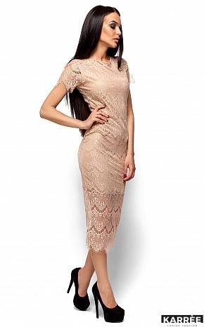 Платье Мелис, Бежевый - фото 4