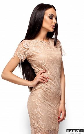Платье Мелис, Бежевый - фото 2