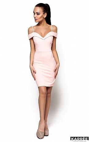 Платье Бель, Персик - фото 1