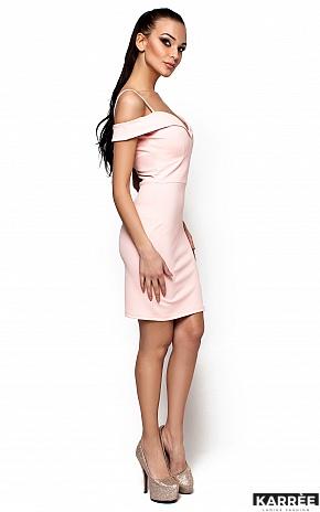 Платье Бель, Персик - фото 2