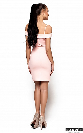 Платье Бель, Персик - фото 3