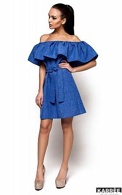 Платье Юнона, Синий