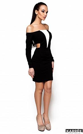Платье Кристин, Черный - фото 1