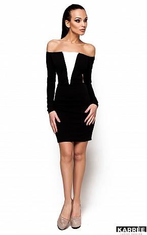 Платье Кристин, Черный - фото 2