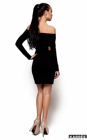Платье Кристин, Черный - фото 3