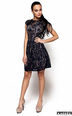 Платье Орион, Темно-синий - фото 1