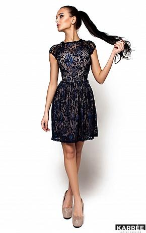 Платье Орион, Темно-синий - фото 2