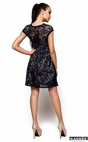 Платье Орион, Темно-синий - фото 3
