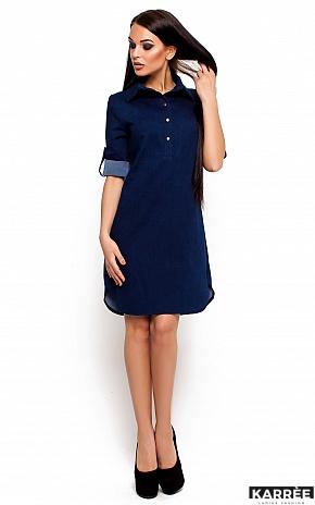Платье Джинси, Синий - фото 1