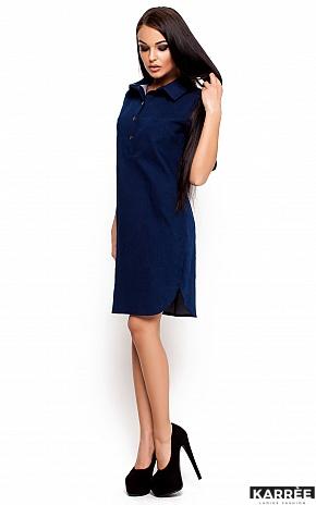 Платье Джинси, Синий - фото 2