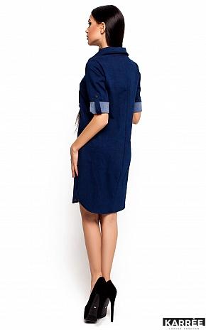 Платье Джинси, Синий - фото 3