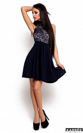 Платье Дейзи, Темно-синий - фото 1
