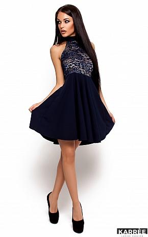 Платье Дейзи, Темно-синий - фото 2
