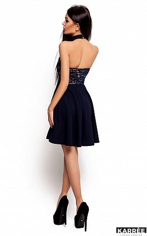 Платье Дейзи, Темно-синий - фото 3