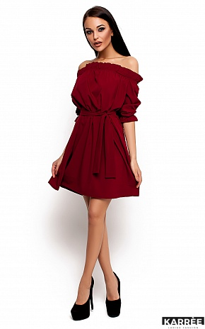 Платье Милана, Марсала - фото 1