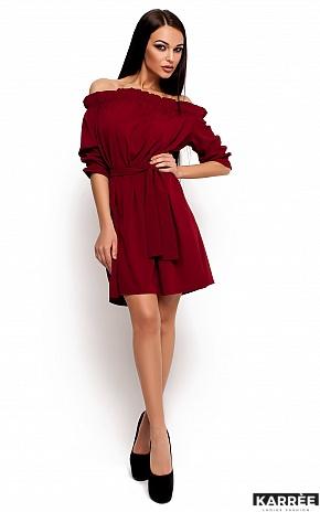 Платье Милана, Марсала - фото 2