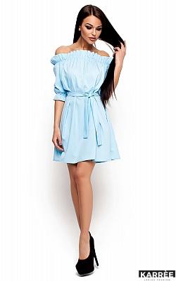 Платье Милана, Голубой