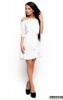 Платье Милана, Белый