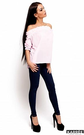 Блуза Джен, Розовый - фото 2