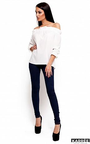 Блуза Джен, Белый - фото 2