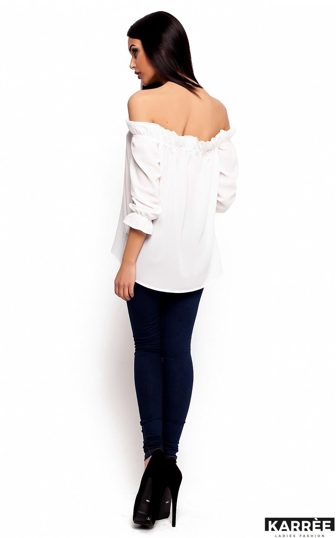 Блуза Джен, Белый - фото 3
