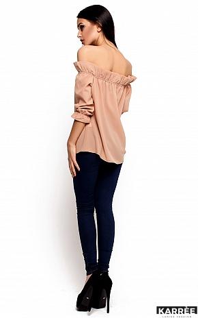 Блуза Джен, Бежевый - фото 3