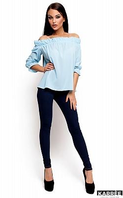 Блуза Джен, Голубой