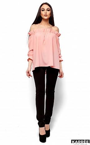 Блуза Джен, Персик - фото 1