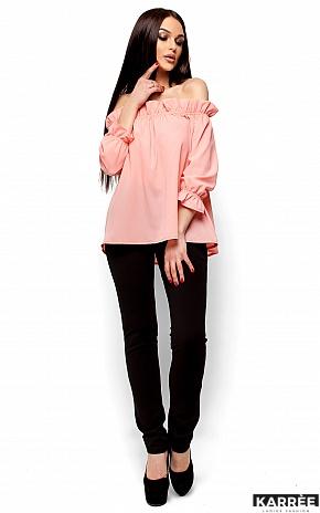 Блуза Джен, Персик - фото 4