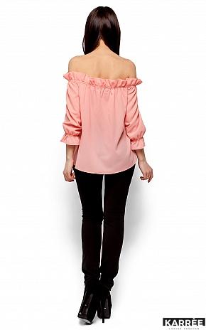 Блуза Джен, Персик - фото 3