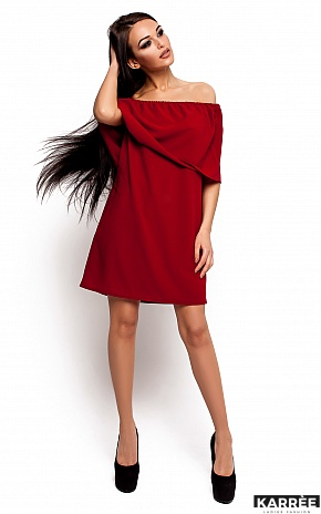Платье Фиона, Марсала - фото 1