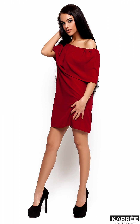 Платье Фиона, Марсала - фото 2