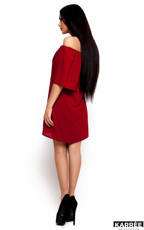 Платье Фиона, Марсала - фото 3