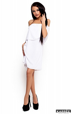 Платье Фиона, Белый